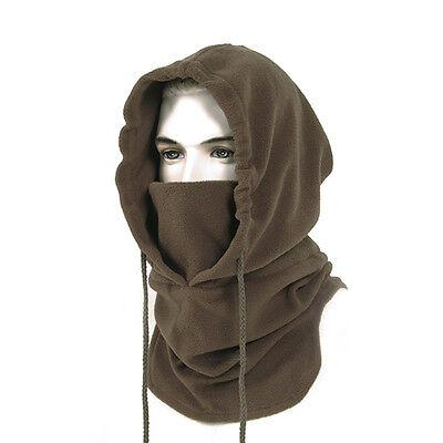 Fleece Winter Tactical Heavyweight Balaclava (Coyote) Neck Face Mask Hood Ski