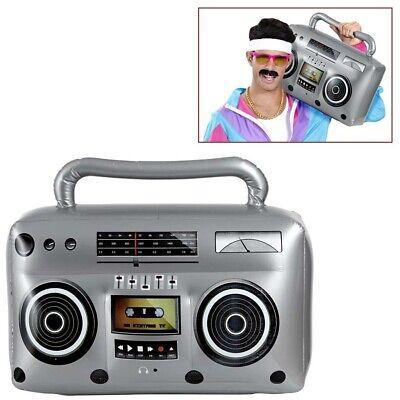 AUFBLASBARES RADIO Hip Hop Rap Ghettoblaster 80er 90er Jahre Kostüm Party 04818 ()