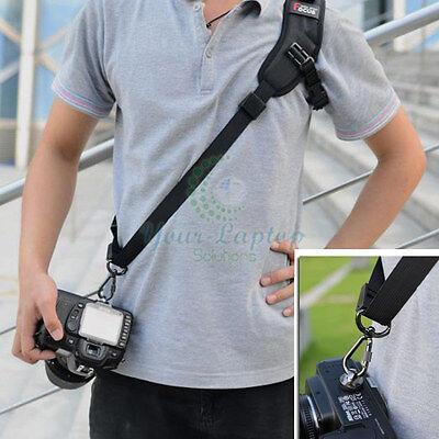 Black Rapid Camera Sigal Shoulder Sling Belt Neck Strap For Nikon Canon DSLR