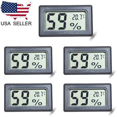 Humidity Thermometer - US 5X Mini Digital LCD Display Thermometer Hygrometer Temperature Humidity Meter