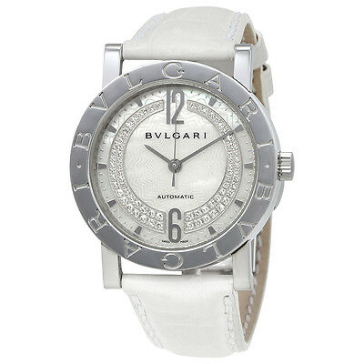 Bvlgari Bvlgari Mother of Pearl Diamond Dial Automatic Ladies Watch 101721