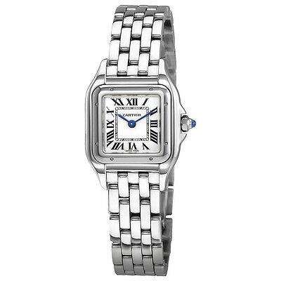 Cartier Panthere de Cartier Silver Dial Ladies Stainless Steel Watch WSPN0006