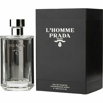 Men Prada l'homme by Prada Milano 3.4 oz / 100ml EDT Spray New in Box