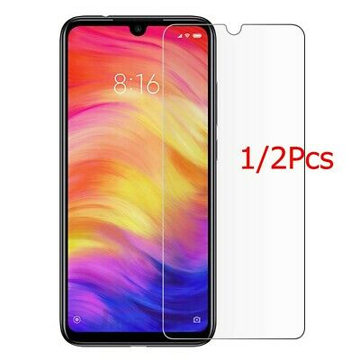 2x For Xiaomi Mi 9/Redmi Note 7 Clear 9H Tempered Glass Screen Protector Film DE Clear Screen Protector Film