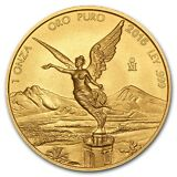 2015 1 oz Gold Mexican Libertad Coin BU (4,800 Coin Mintage) - SKU #96968