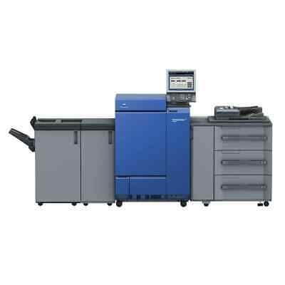 Low Meter Konica Minolta Bizhub Press C1085 Digital Printing Press Copier