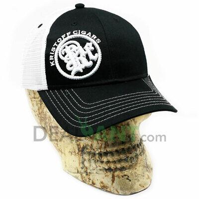 KRISTOFF CIGAR EMBROIDERED ADJUSTABLE CAP HAT