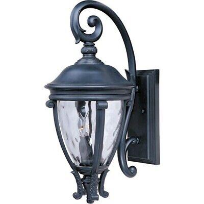 - Maxim Camden VX 3-Light Outdoor Wall Lantern Black - 41425WGBK