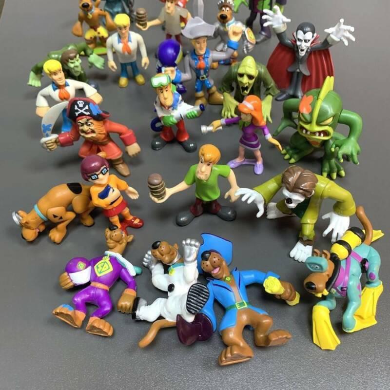 "SCOOBY DOO 2.5/"" gamma Hanna Barbera Figura-ZOMBIE-NO prurple SPLAT"
