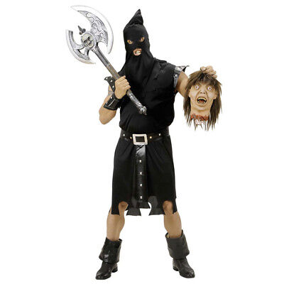 HENKER HERREN KOSTÜM SET  Maske Halloween Karneval Fasching Scharfrichter M 5890