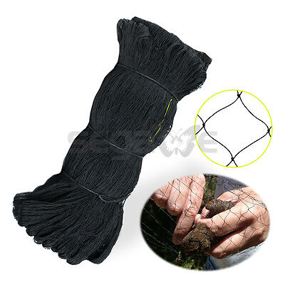 Garden Bird Netting - 25 X 50 Ft Plastic Wire Mesh - Plants Poultry Or Pond Net