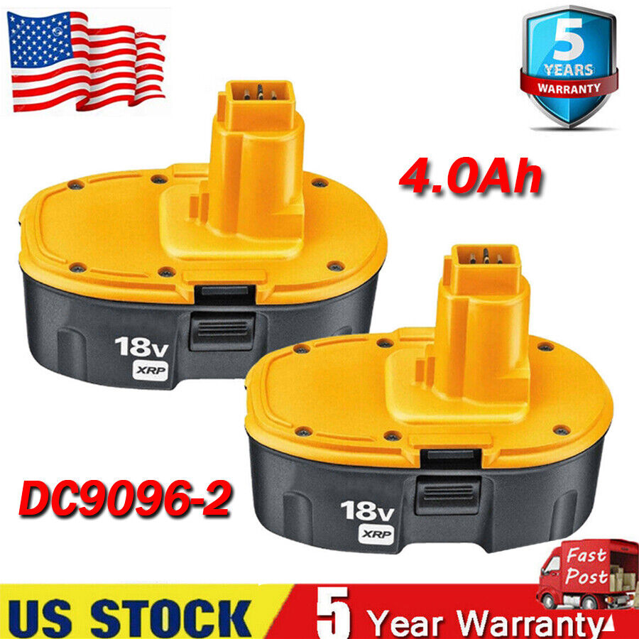 Replace for DEWALT DC90962 18V XRP Ni-mh Battery DC9096 DC90