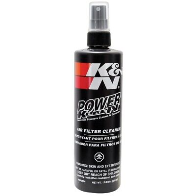 Power Kleen Air Filter Cleaner 12oz 355ml Spray Degreaser K and N - 99-0606 K&N
