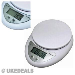 5kg digital balanza postal lcd electr nico cocina for Balanza cocina 0 1 g