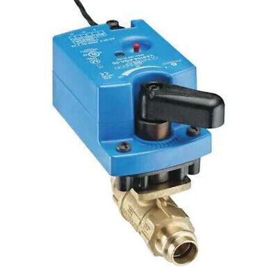 Johnson Controls Vg1241af9t4gga 2-way 12 Forged Brass Ball Valve Wactuator