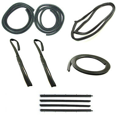 Weatherstrip Seal Kit Complete 82-93 Chevy S10 GMC S15 Sonoma