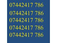 GOLD VIP BUSINESS EASY GOOD MOBILE PHONE NUMBER 786 DIAMOND PLATINUM SIM CARD