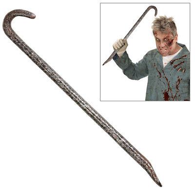 DEKO BRECHEISEN # Halloween Einbrecher Serienkiller Horror Waffen Kostüm 48672
