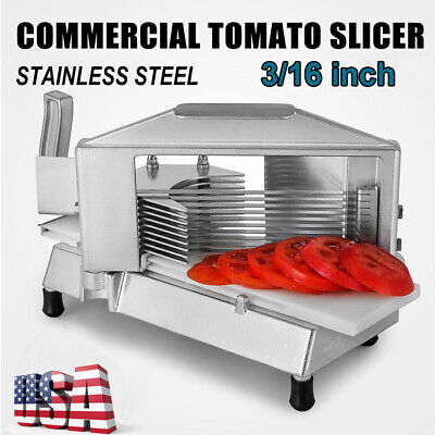 Commercial Tomato Slicer 316cutting Machine Stainless Steel Blade For Kitchen