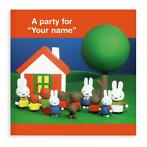 Boek met naam - Miffy a party for... (Engelstalig)