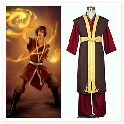 Avatar The Legend of Korra Zuko Outfit Cosplay Costume Custom Made (Zuko Costumes)