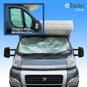 Internal Thermal Window Blinds Peugeot Boxer 2006   Windscreen Blind Cover New