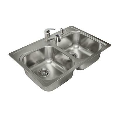"Kindred 33""x 22""x 8"" Sink Kit"