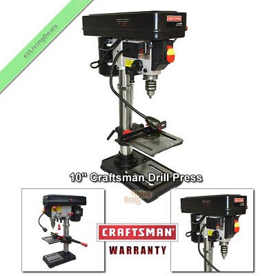 Craftsman Drill Press 10 Laser Benchtop 12 Hp Bench Top Adjustable Table