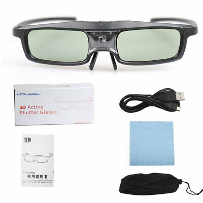 Kolsol G06 3D glasses 144HZ IR active shutter for 3D DLP-Link Projectors TV&HDTV