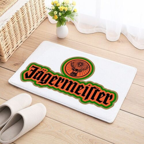 Jagermeister Carpet Mat Natural Cotton Floor Door Anti Slip decor