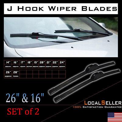 2PCS 26  16 ALL SEASON Original Car WINDSHIELD WIPER BLADES OEM Quality New