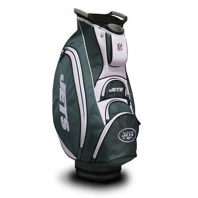 nfl new york jets victory cart bag
