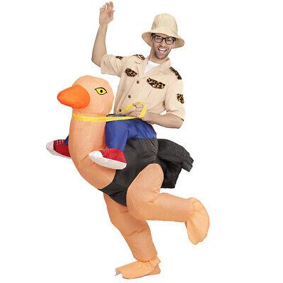 ENKOSTÜM Entdecker Forscher Safari Strauß Vogel Kostüm 75507 (Strauß Kostüme)