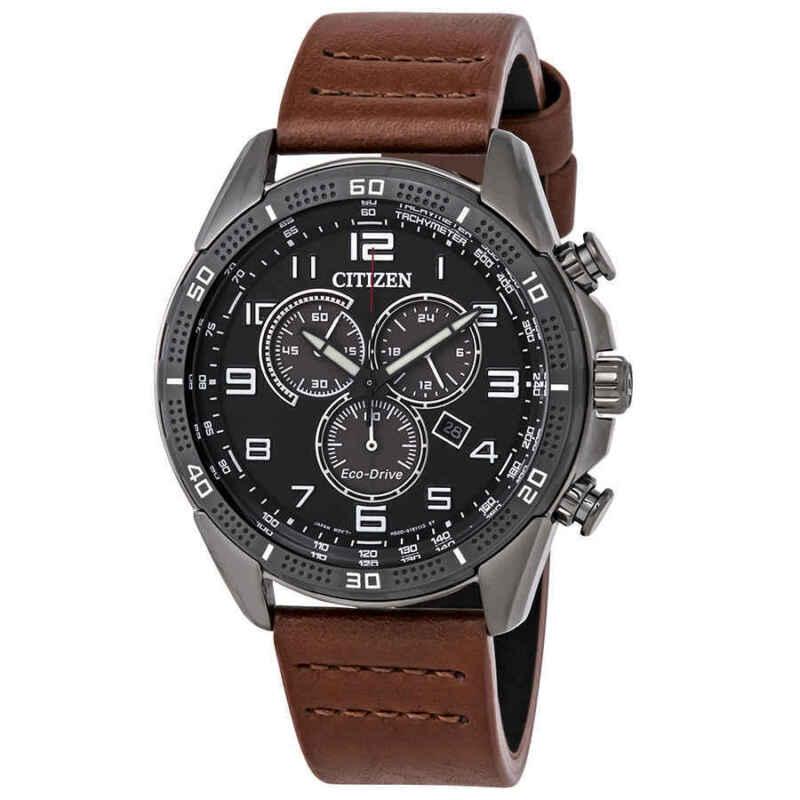 Citizen-AR-Eco-Drive-Chronograph-Black-Dial-Men-Watch-AT2447-01E