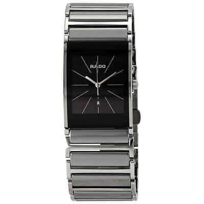 Rado Integral Black Dial Ceramic Men's Watch R20784159