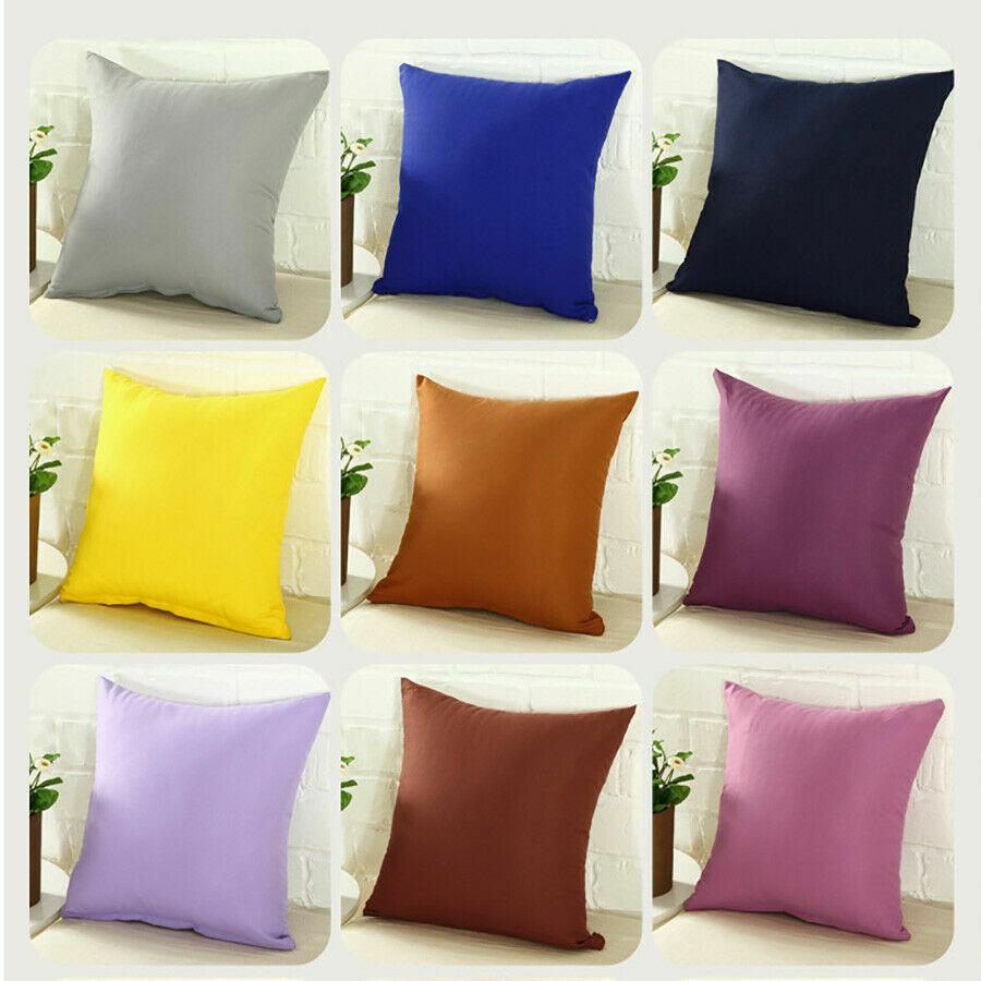 Pillowcase Home Couch Sofa Decor Throw Pillow Cover Case Cus