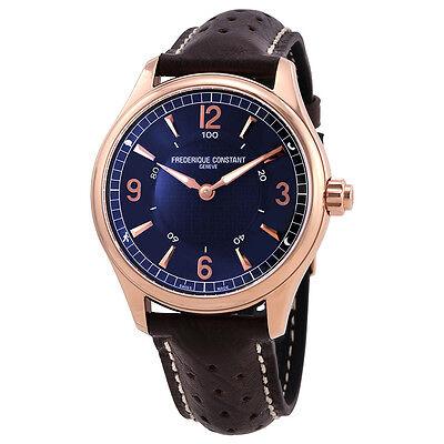 Frederique Constant Blue Dial Mens Horological Smartwatch FC-282AN5B4
