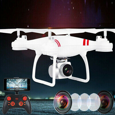 NEW PHNATOM4 GPS Drones Quadcopter Remote Control Camera HD Camera WiFi-5G White