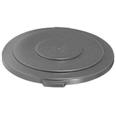 Gallon Brute Round Container Lid - 3 Rubbermaid 2654 Brute Vented Lid 55 Gallon Round Container Gray Trash Can 2655