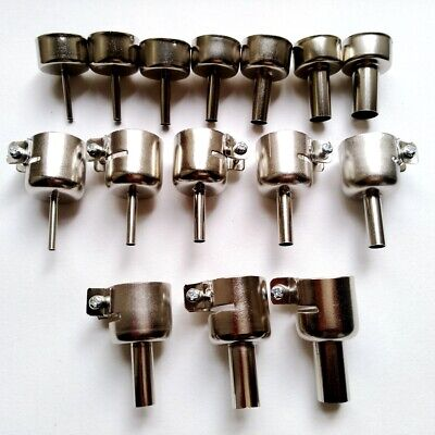 15x Nozzle Tool For Heat Gun 850 858 Hot Air Soldering Station Repair A425