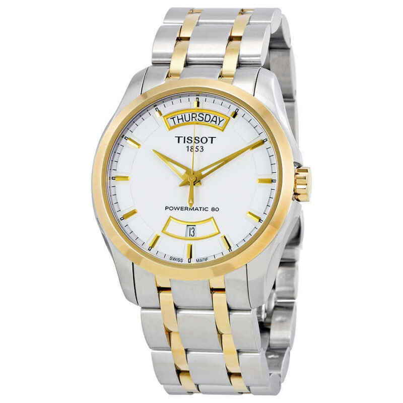 Tissot Couturier Powermatic 80 Day-date Automatic Men Watch T035.407.22.011.01