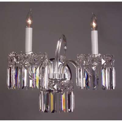 Classic Lighting Buckingham Crystal Sconce/WallBracket, Chrome - 82032CHCP