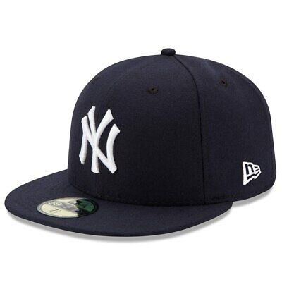New York Yankees New Era Navy Game Authentic Collection 59FIFTY Fitted Hat Authentic Fitted Hat Game