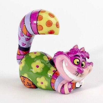✿ DISNEY Romero Britto Mini Figurine Alice in Wonderland Cheshire Cat