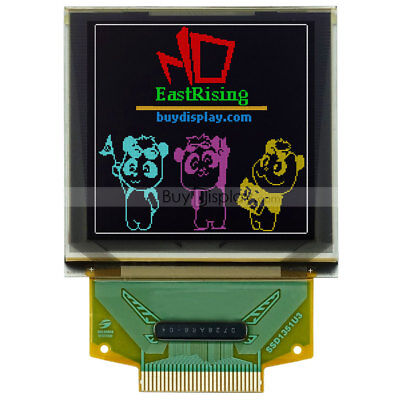 Serial Spi 1.5color Oled Display 128x128 Graphic Module For Arduino Wtutorial