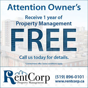 Attention Owners! Receive 1 year of property management FREE!