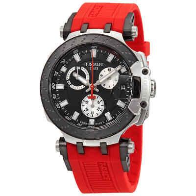 Tissot T-Race Chronograph Quartz Black Dial Men's Watch T1154172705100 ()