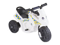 Kids Police 6V Electric Bike