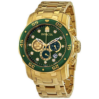 Invicta Pro Diver Chronograph Green Dial Men's Watch 28719