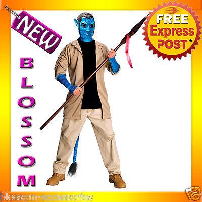 C831 Licensed Mens Avatar Movie DELUXE JAKE SULLY - Avatar Fancy Dress